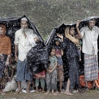 Pulitzer Prize-winning photographer Cathal McNaughton's Rohingya pics on show
