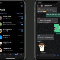 WhatsApp launches dark mode