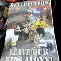 Anti PSNI leaflets linked to school's police station visit