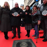Amy Winehouse honoured on Camden's Music Walk Of Fame