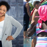 British inventor designs waterproof scarf to encourage more BAME people to swim