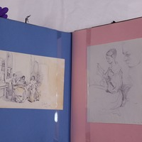 Family album featuring drawings of Florence Nightingale to go on show