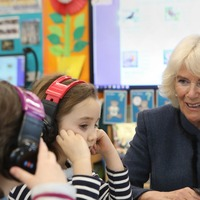 Camilla jokes about stealing the Crown Jewels on World Book Day