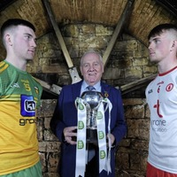 Tyrone and Donegal go head to head in Ulster Under 20 football decider