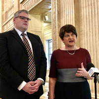 DUP and UUP leaders disagree  over tunnel to Scotland proposal