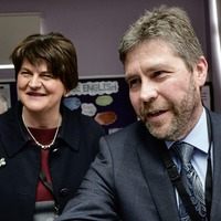 Kevin Lunney makes first public appearance to help launch school business link