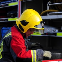 Firefighters save the bacon after pig poops pedometer and starts blaze