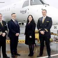 Eastern Airways launches Teesside service from Belfast City