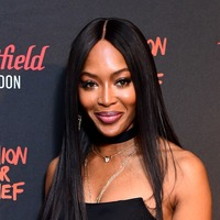 Naomi Campbell arrives at airport in hazmat suit amid Covid-19 outbreak