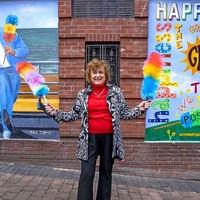 Mural tributes to Sir Ken Dodd unveiled in Liverpool