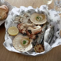 James St Cookery School: Barbecue seafood platter, boiled beef with mustard and parsley sauce