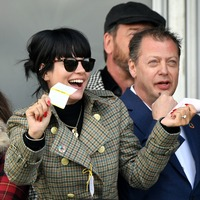 Lily Allen and Kirsty Gallacher enjoy day out at the Cheltenham Festival