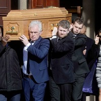 Boxing legends join Eastwood family in a 'Celebration of the life of Bernard Joseph (BJ) Eastwood'