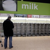 Supermarkets urge customers to show consideration as deliveries are stepped up