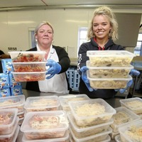 Hot meals delivered to pupils of north Belfast primary school after generous donation