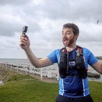 Man films his solo run of postponed Antrim Coast Road Half Marathon for racers in isolation