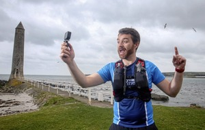 Man films his solo run of postponed Antrim Coast Road Half Marathon for racers in isolation