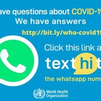 World Health Organization launches WhatsApp service that answers your coronavirus questions