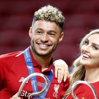 Perrie Edwards discusses self-isolating with Alex Oxlade-Chamberlain
