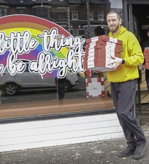Belfast take-away delivers hundreds of pizzas to healthcare staff at local hospitals