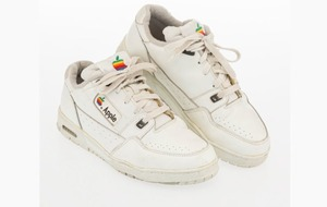 Vintage Apple trainers sold for almost £8,000 at auction