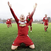 Four Cliftonville men make Liam Boyce's best XI and Georgie McMullan gets the armband