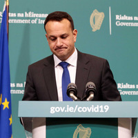 Watch: Leo Varadkar bans travel further than 2km from home and over-70s to be 'cocooned' from midnight