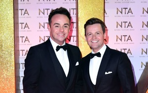 Ant and Dec front Saturday Night Takeaway from their living rooms