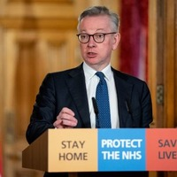 Michael Gove apologises to company that offered to procure 25,000 ventilators for the NHS but got no reply