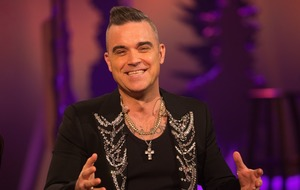 Robbie Williams discusses his fascination with the supernatural