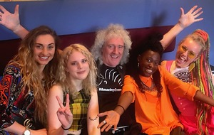 Brian May and Kings Daughters release viral single to 'unite the world'