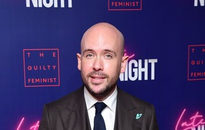 Tom Allen says his mother has been 'told off' by police over lockdown rules