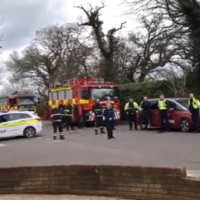 Emergency services gather to sing happy birthday to 10-year-old in Cork
