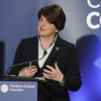 Arlene Foster discusses coronavirus church closures with Bishop Donal McKeown