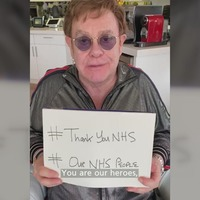 Elton John and Paul McCartney among stars thanking NHS