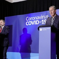 Executive puts on united front as Covid surge expected in days