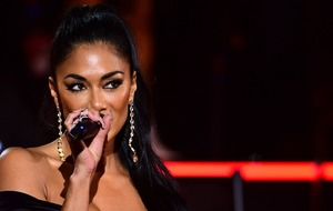 Nicole Scherzinger sings duet with boyfriend Thom Evans to mark his birthday