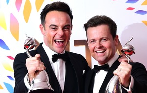 Ant and Dec deliver Saturday Night Takeaway series finale from their sofas