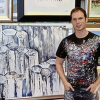 Artist supports home schooling efforts with online Friday art classes