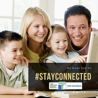 Eco-Schools launch appeal to #stayconnected during Covid-19