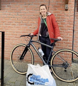 Pharmacist's stolen bike replaced after outpouring of public support following theft