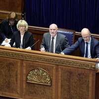 Speaker Alex Maskey must stay at home due to Covid crisis