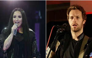 Demi Lovato and Chris Martin star in music video promoting togetherness