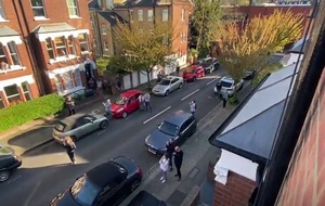 Neighbours perform Shakespeare from their windows to cheer up isolated residents