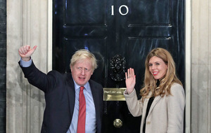 Boris Johnson's fiancee cannot thank 'magnificent NHS' enough after British PM is discharged