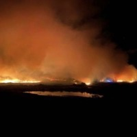 Homes evacuated in Co Tyrone gorse fire