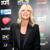 Zoe Ball takes part in singalong dedicated to delivery drivers