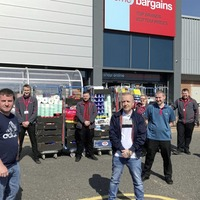 Home Bargains staff praised for donation to food banks