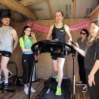 Tyrone Ulster Championship winner Seanie Meyler runs charity marathon in his shed
