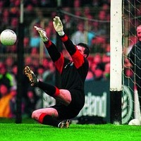 Iconic Moments: Neil Collins's penalty save wins 'Sam' for Down